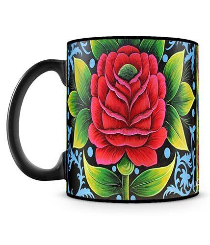 Rose Art Mug