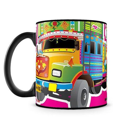 Yellow Truck Mug