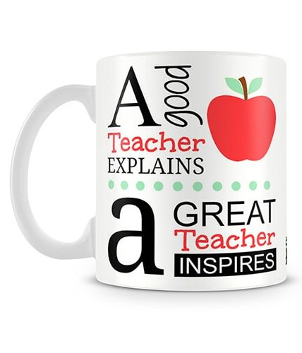 Great Teacher Inspires Mug