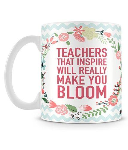 Bloom Teacher Mug