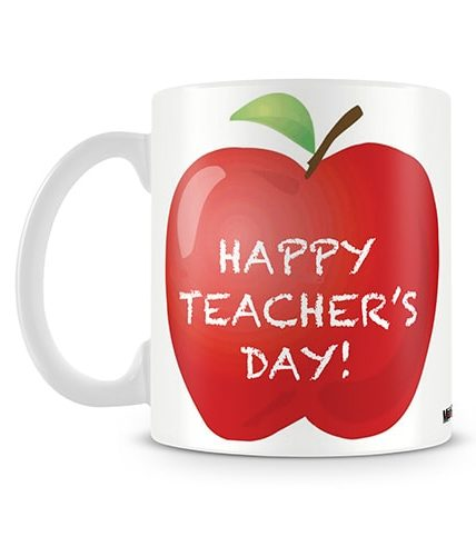Happy Teachers Apple Mug