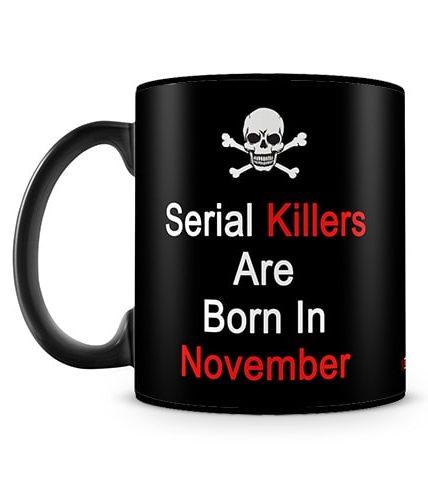 November Serial Killers Mug