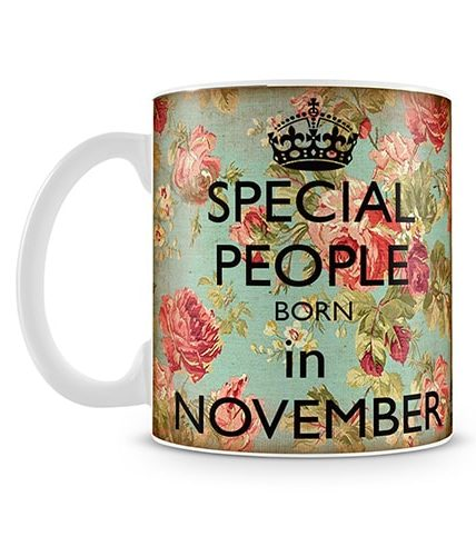Special People Born In November Mug