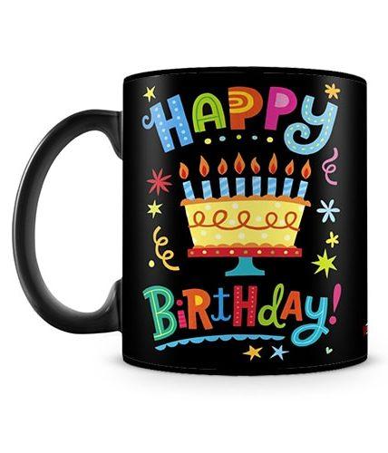 Happy Birthday Cake Mug