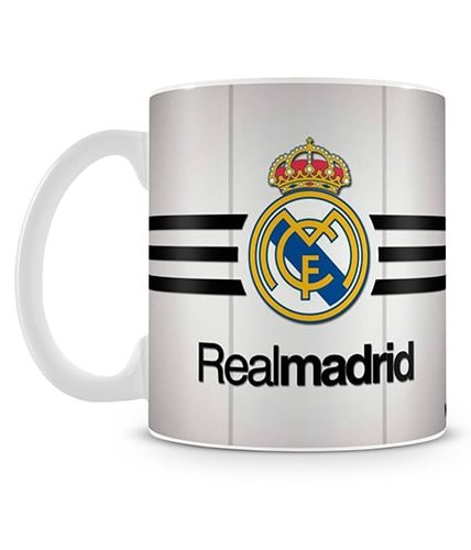 Real Madrid Stripes Mug