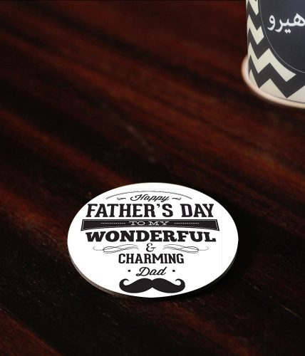 Charming Dad Coaster