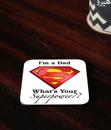 Dad Superpower Coaster