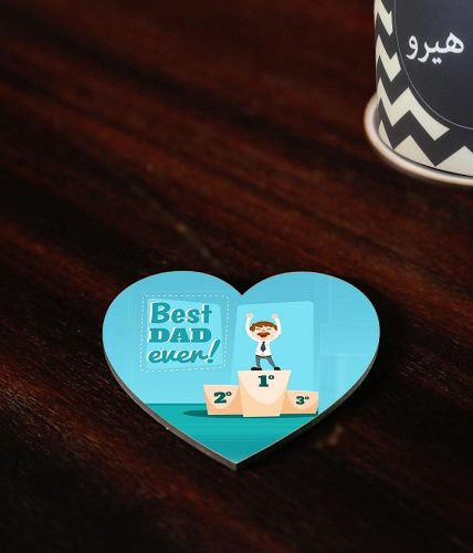 Best Dad Ever Coaster