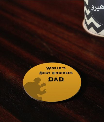Best Engineer Dad Coaster