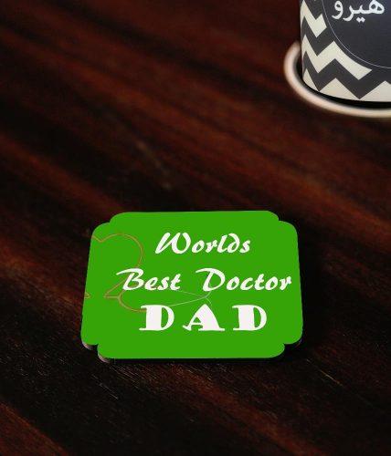 Best Doctor Dad Coaster