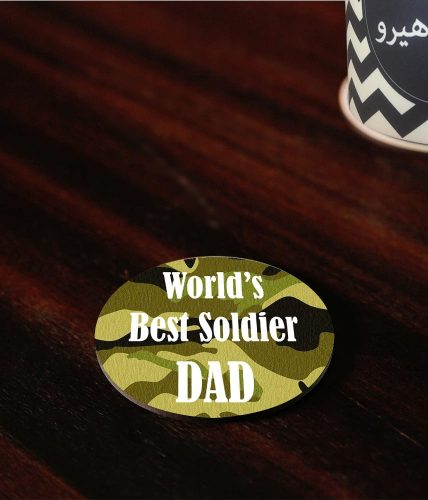 Best Soldier Dad Coaster