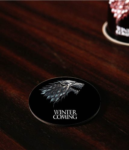 Winter Is Coming Coaster
