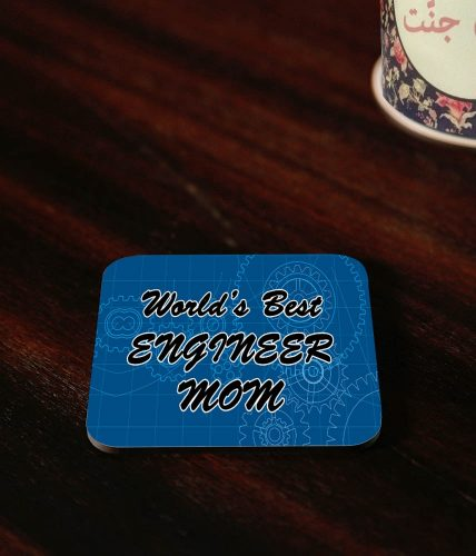 Engineer Mom Coaster