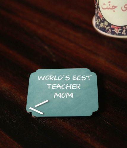 Teacher Mom Coaster