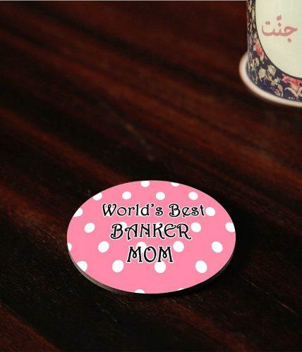 Banker Mom Coaster