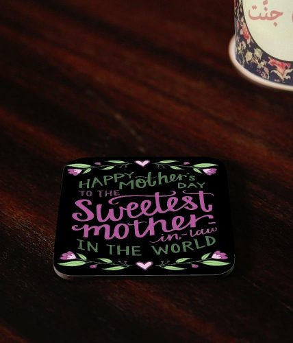 Sweetest Mother-In-Law Coaster