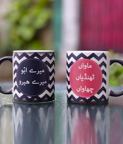Mother & Father Mugs Combo