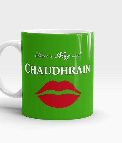 Share A Mug Lips - Customizable