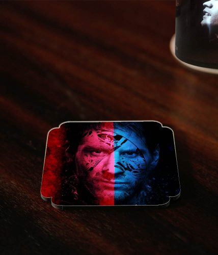 Messi Face Coaster