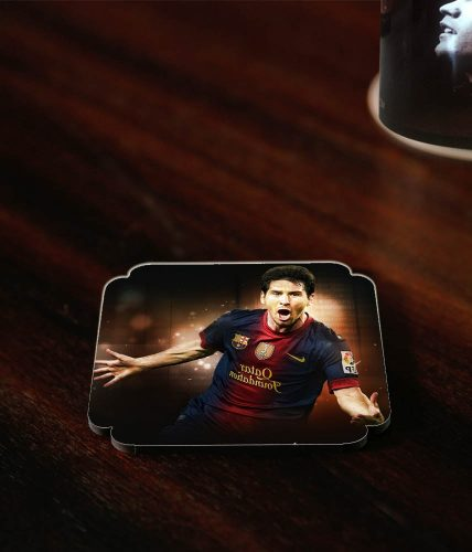 Messi Shouting Coaster