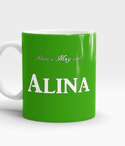Share A Mug - Customizable