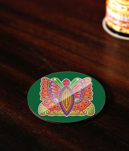 Butterfly Art Coaster