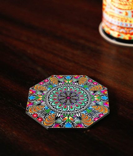Color Art Coaster