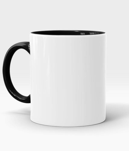 Black Handle & Inner Mug - Customized