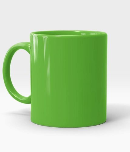 Light Green Mug - Customized