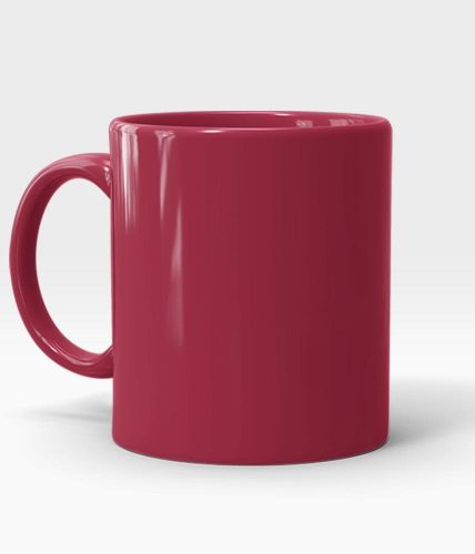 Maroon Mug - Customized