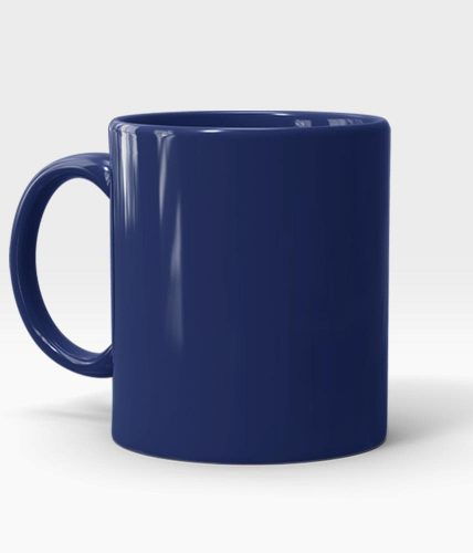 Navy Mug - Customized