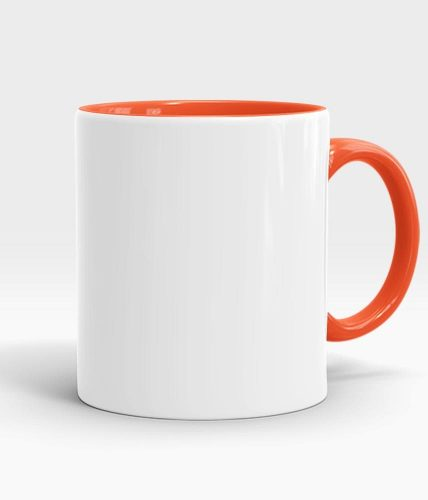 orange color handle mug-min