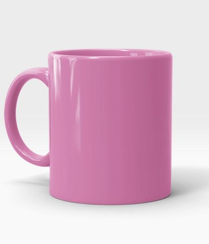 Pink Mug - Customized