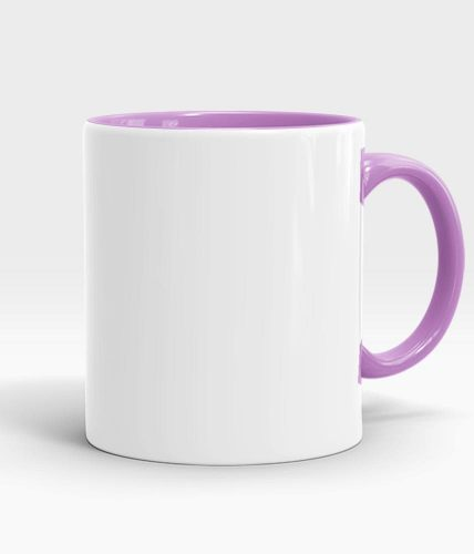 purple color handle mug-min