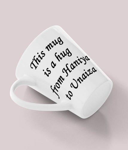Hug Mug With Names - Customizable