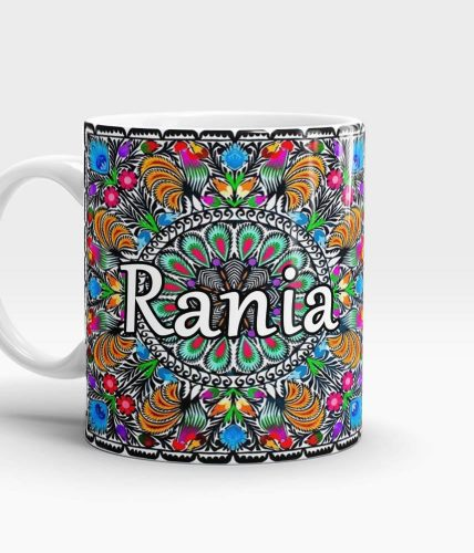 Color Art Name Mug - Customizable