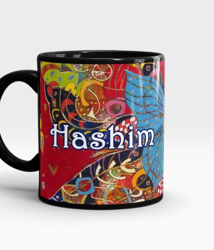 Butterfly Art Name Mug - Customizable