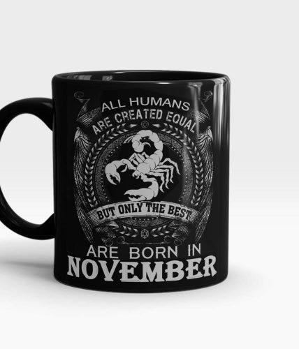 Scorpio November Mug