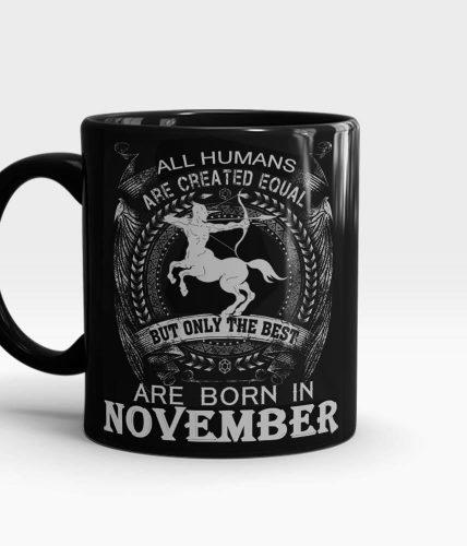 Sagittarius November Mug