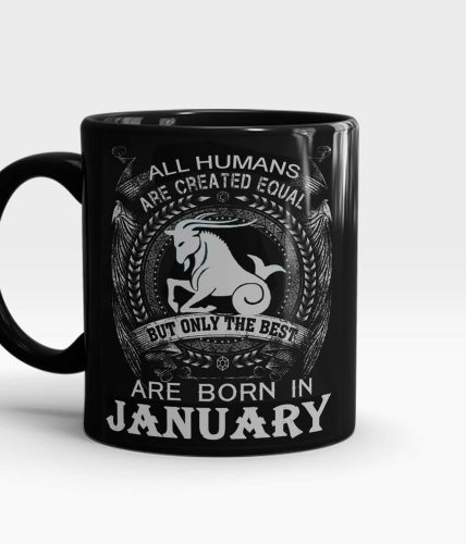 Best Born In January Mug
