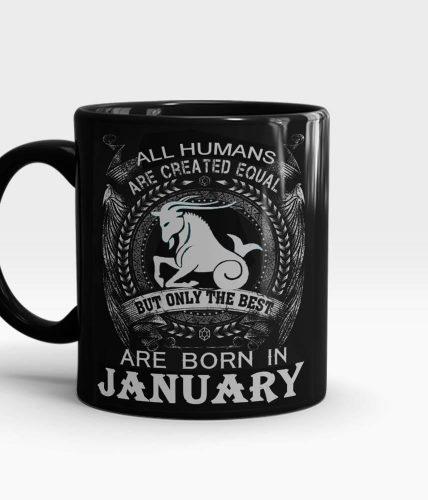 Best Born In January Mug
