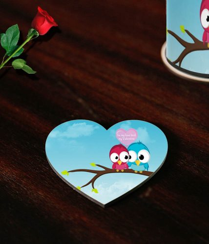 Love Birds Valentine's Coaster