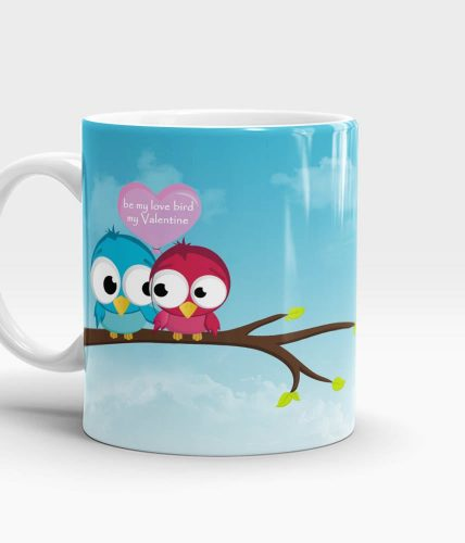 Love Birds Valentine's Mug