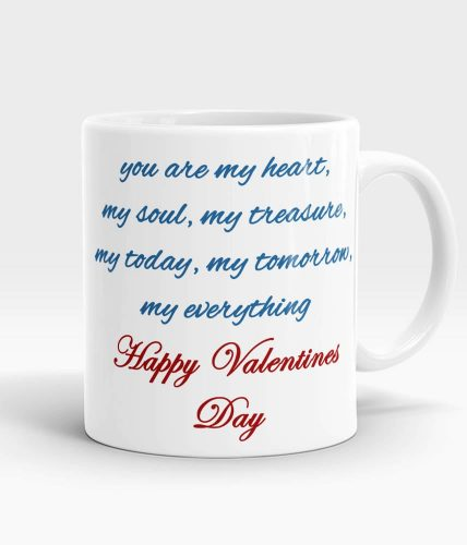 Happy Valentine's Bear Mug