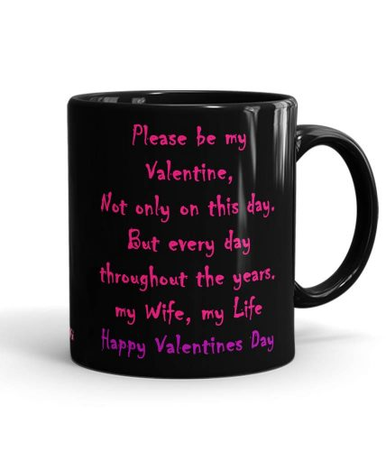 Wife Valentine's Day Mug