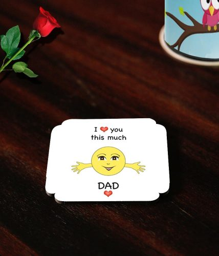 Dad Valentine's Day Coasters
