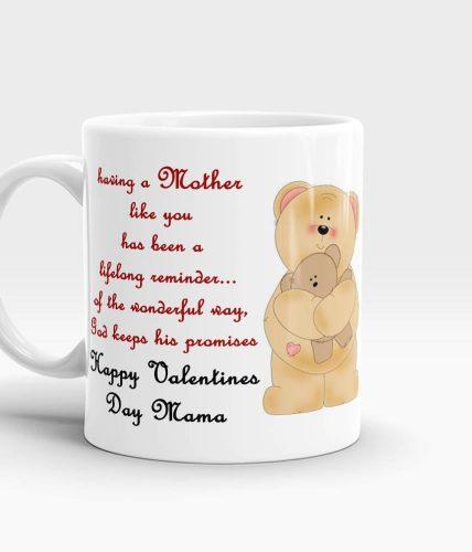 Mama Valentine's Day Mug