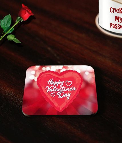 Valentine's Day Heart Coasters