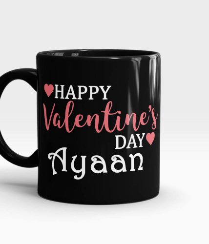 Happy Valentine's Day Name Mug