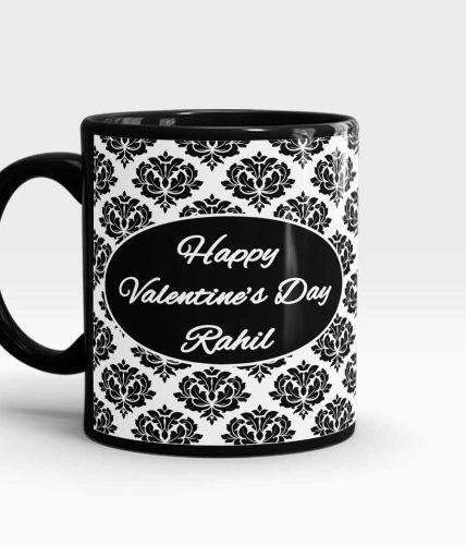 Valentine's Day Name Mug